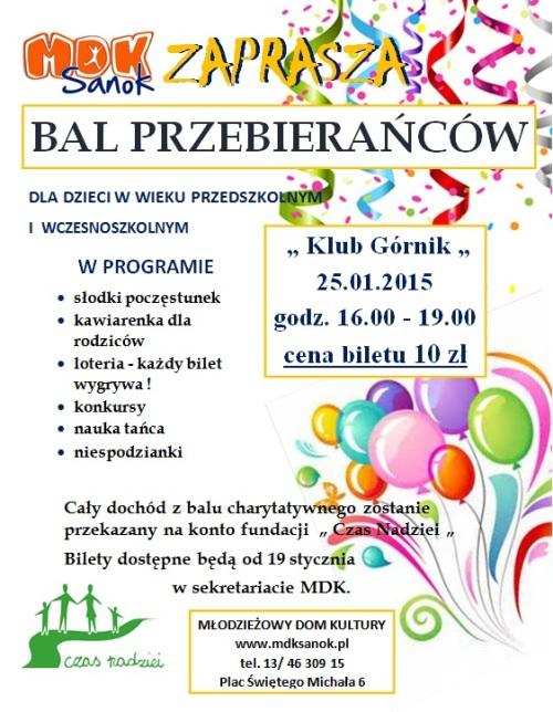 Serwis Informacyjny O Lesku Region Kultura Zaproszenie Na Bal